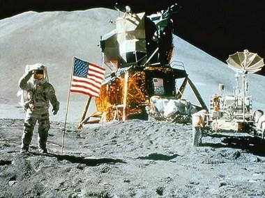 американці на Місяці