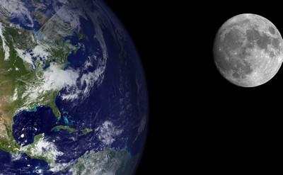 Земля та місяць