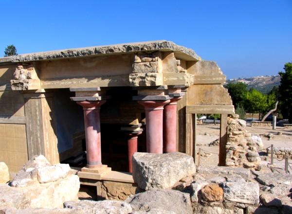 остатки минойской культуры
