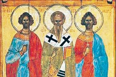 Нимбы святых