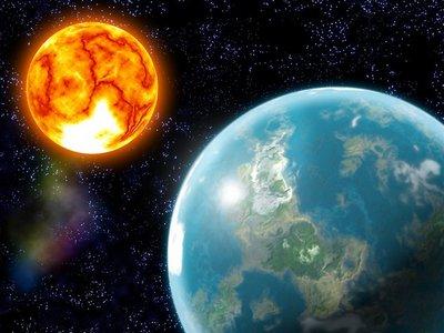 Земля вокруг Солнца