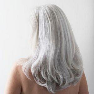 сиве волосся