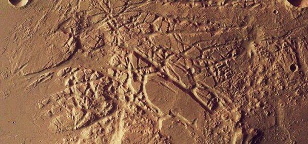 фото каналов Марса