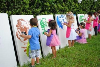 майстер класи для дітей на природі