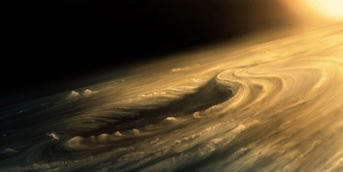 Вихори на Венері