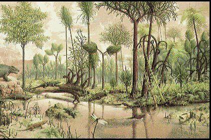 растения мезозойской эры