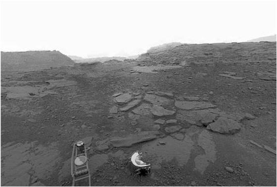 панорамный снимок поверхности Венеры