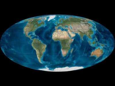 рух континентів