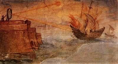 Боевые зеркала Архимеда