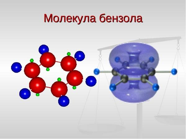 молекула бензолу