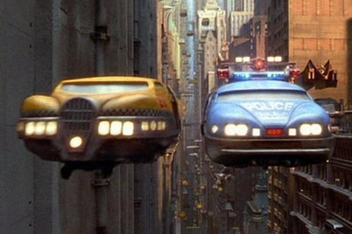Летающие автомобили из Пятого елемента