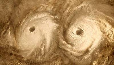 Сверкающие облака Венеры
