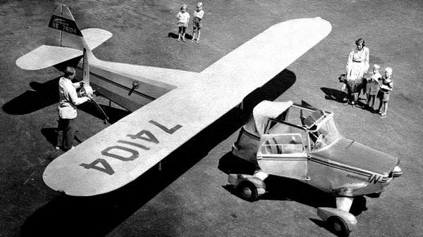 летающий автомобиль Фултона