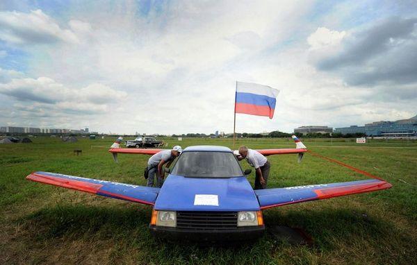 российский летающий автомобиль