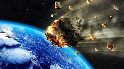 Астероид упал на Антарктиду