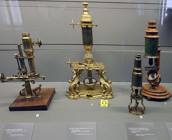 Мікроскопи 18 століття