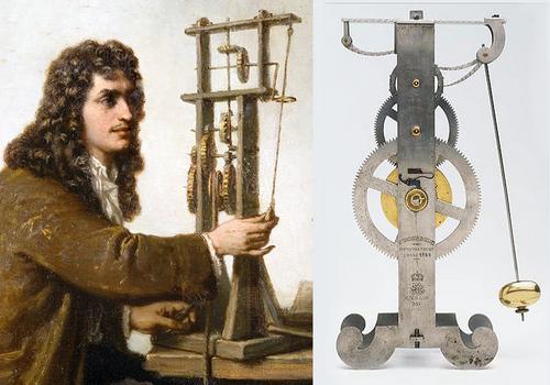 маятниковые часы гюйгенса