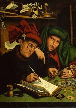 Средневековый банкир