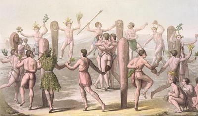 танцы в древности