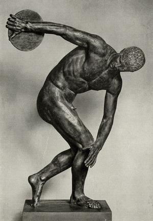 Греческий атлет