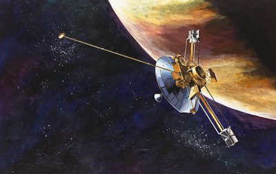 Пайонир-10 возле Юпитера