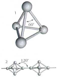 будова молекули білого фосфору