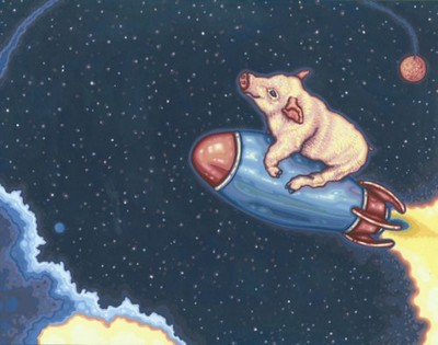 Свиня в космосі