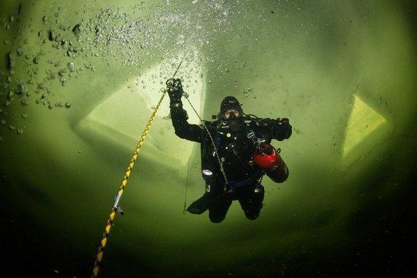глубоководное погружение в арктике