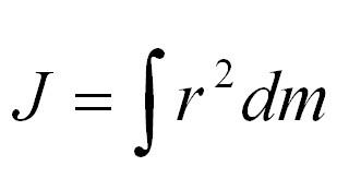 Формула моменту інерції