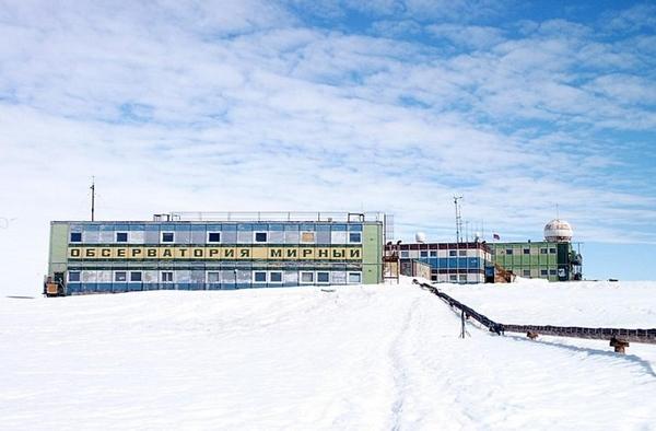 Советская станция Мирный