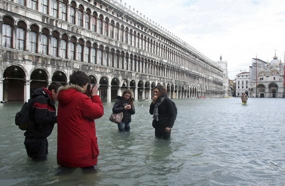 Затоплена Венеція