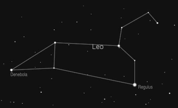 Leo constellation picture