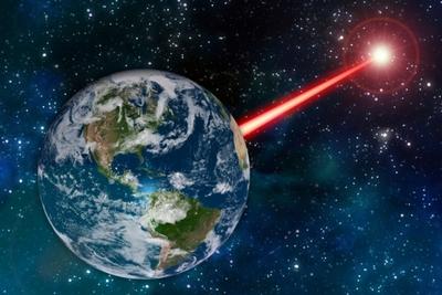 Лазерне око астрономів