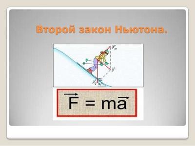 Другий закон Ньютона