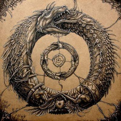 дракон їсть свій хвіст