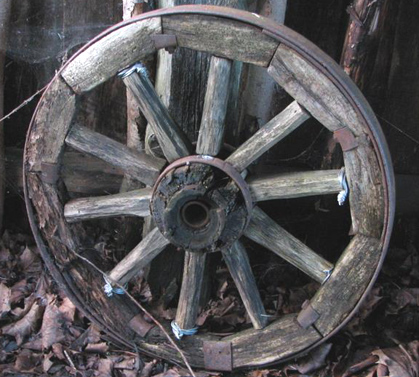 колеса в давнину