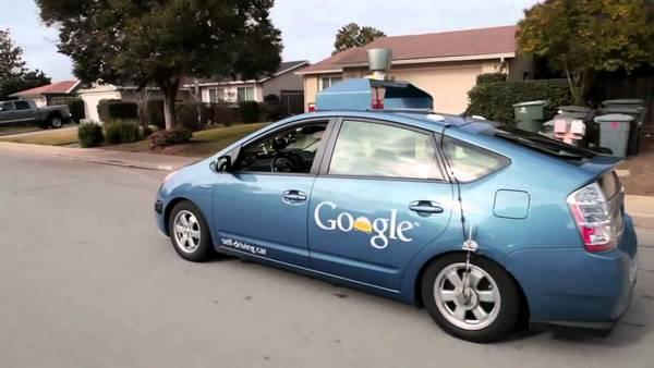 Google автобиль