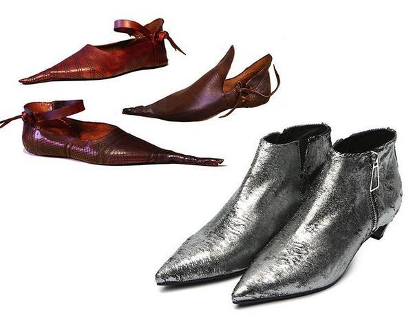 Взуття в середні віки
