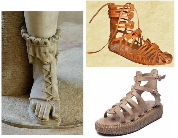 сандалі античності