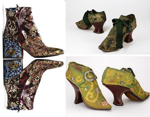 туфлі ренесансу