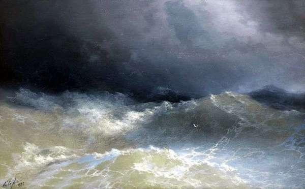 волны айвазовский
