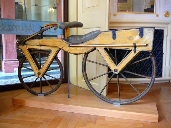 перший велосипед