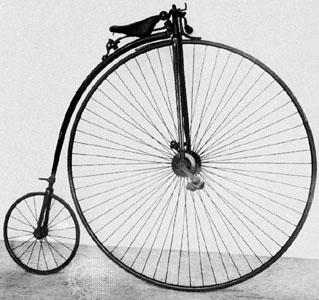 Велосипед 19 века