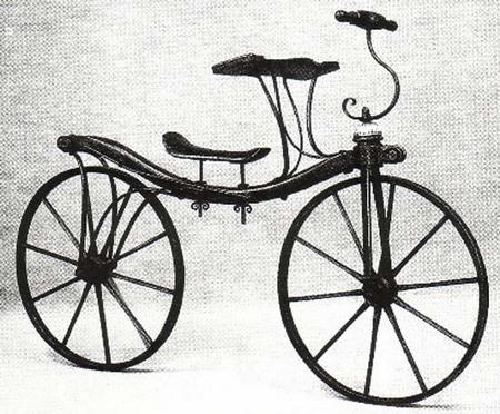 велосипед Дениса Джонсона
