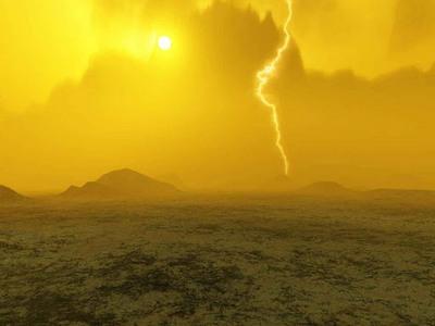 Блискавки на Венері