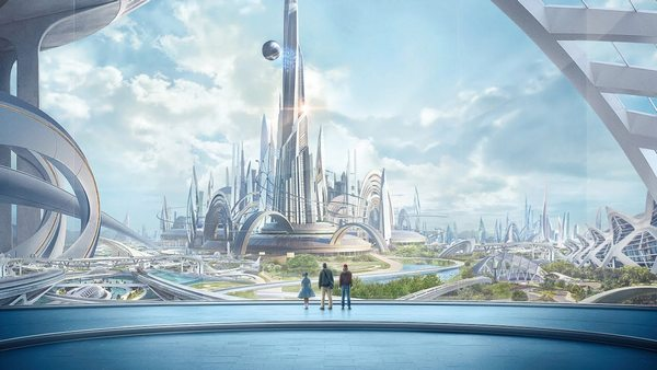 Малюнок міста майбутнього