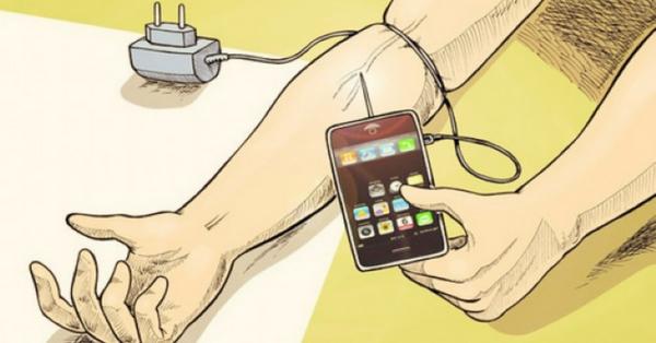 смартфон залежність