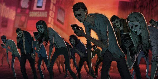 Зомбі смартфон