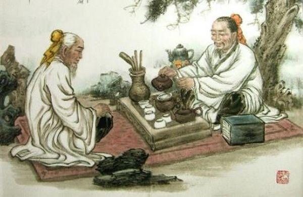 чай в древньому Китаї