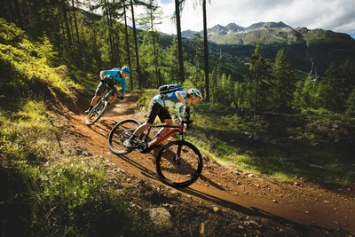 велосипед в горах